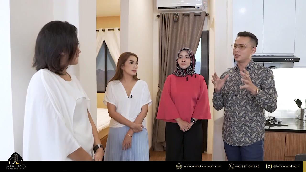 Ngopi, Ngobrol Properti Bersama Ussy dan Andhika di La Montana Bogor Apartment