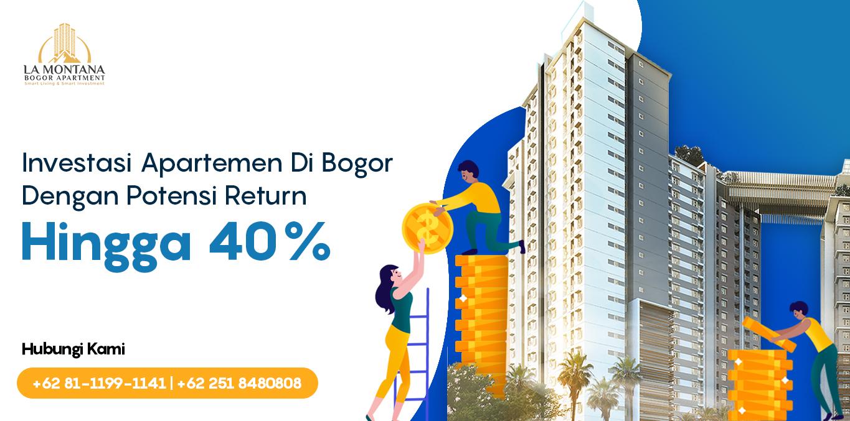 La Montana Bogor Apartment Header Website Investasi