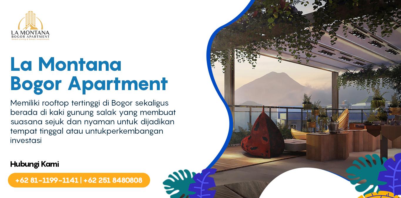 La Montana Bogor Apartment Header Website Investasi 2
